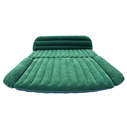 ElevensR Back Seat Air Mattress For Car SUV And Minivan Heavy Duty Inflatable Bed