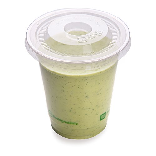 9-OZ PLA Plastic Cup – Clear Cold Drinking Cup: Perfect for Juice Shops, Delis, Restaurant Takeout – Compostable, Biodegradable & Eco-Friendly – 1000-CT – Restaurantware