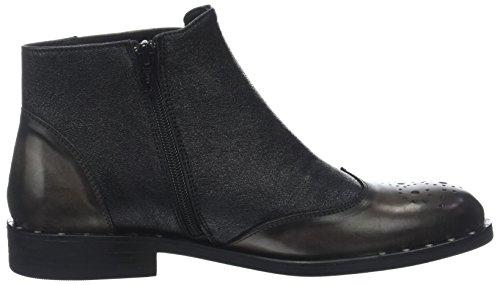 Piu Grey Veruska Boots Asfalto Women's Nero Slouch Donna 013 U6ZWxcOnc