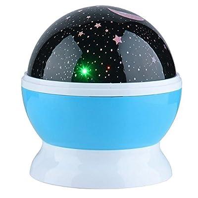 360 Degree Romantic Room Sun Star Night Light
