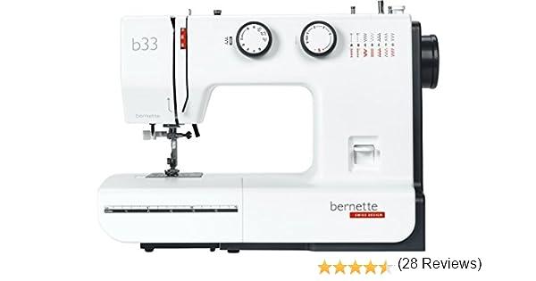 Bernette 33 Swiss Design - Máquina de coser: Amazon.es: Hogar