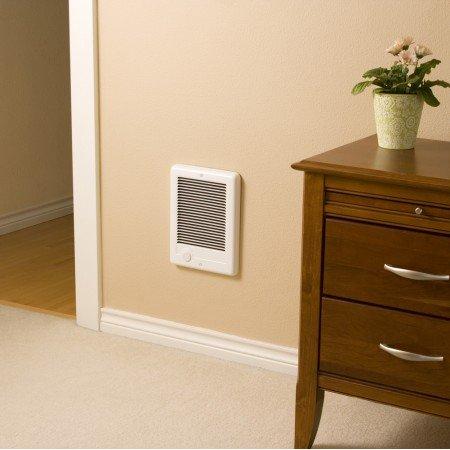 Cadet CSC101TW Wall Heater, 120V 1000W Com-Pak Plus - White
