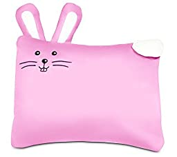 """Toddler PILLOW CASE -100% Cotton-For 13""""x18""""and 14""""x19"""" Pillows - Pink"""