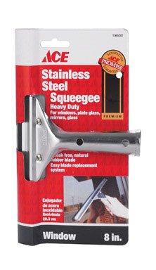 - Dennis, W J & Co. 888/ACE Stainless Steel Premium Window Squeegee 8