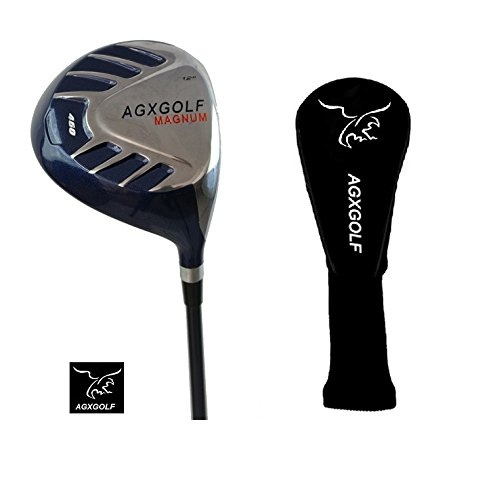 AGXGOLF Ladies Magnum 460cc Driver wLady Flex Graphite Shaft: Choose Loft: Petite, Regular or Tall + Head Cover Made in USA! ()