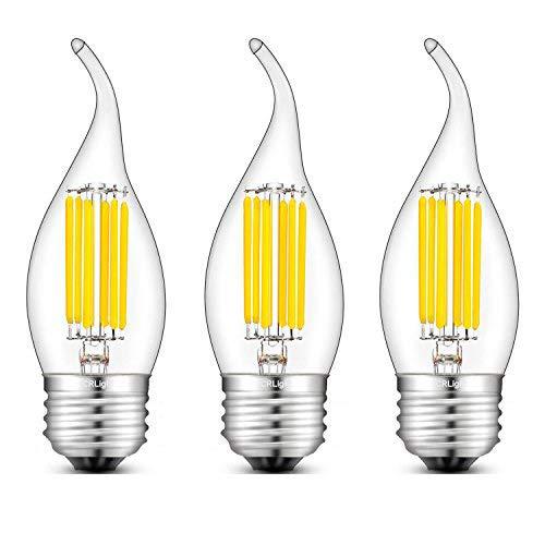 CRLight LED Chandelier Bulb Dimmable 6 Watt 4000K Daylight Neutral White 700LM