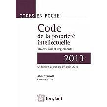 Code de la propriété intellectuelle 2013