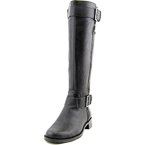 Womens Black Harness Boots - 5