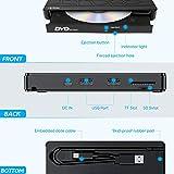 Apiker External DVD Drive, USB3.0 CD DVD +/-RW