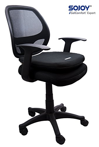 Cute  Sojoy iGelComfort Coccyx Orthopedic Breathable Gel Seat Cushion