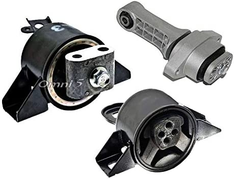 ONNURI For 2004-2011 Chevrolet Aveo // Aveo5 // Pontiac Wave // Wave5 1.6L Motor /& Trans Mount 3pcs : A5350 K2051 A5351 A5378