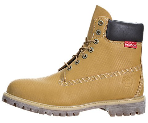 Timberland Men's 6 Inch Premium Wheat Helcor Scuff Proof Boots, 10.5