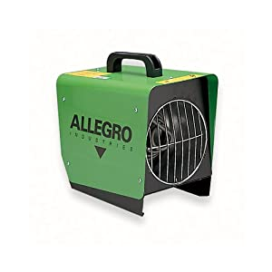 4. Allegro Industries 9401-50 Tent Heater