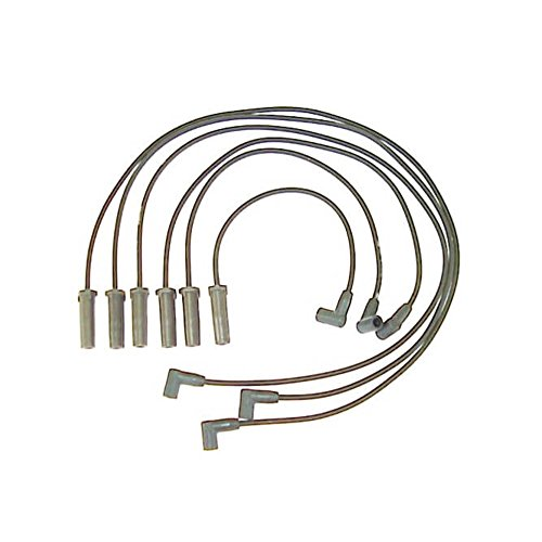 Accel 116065 ProConnect OEM Replacement Straight Boot Black Spark Plug Wires 6pc Set
