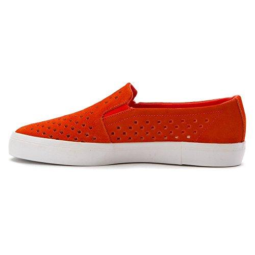 Zapatillas Lacoste Hombres Shua Strap Sk Fashion Naranja / Blanco