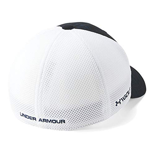 Under Armour Boys' Golf Classic Mesh 2.0, Academy (408)/Blue Circuit, Youth (Classic Mesh Cap)