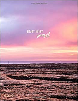 com enjoy every sunset weekly monthly planner
