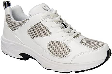 Drew Shoe Men's LIGHTNING II White Sneakers 16 (4W)