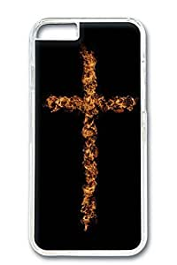 Custom Design Covers for iPhone 6 PC Transparent Case - Cross Fire by Maris's Diary