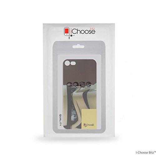 iPhone 7 Star Wars Estuche de Silicona para Smartphone / Cubierta de Gel para Apple iPhone 7 (4.7) / Protector de Pantalla y Paño / iCHOOSE / R2-D2 Stormtrooper Visor