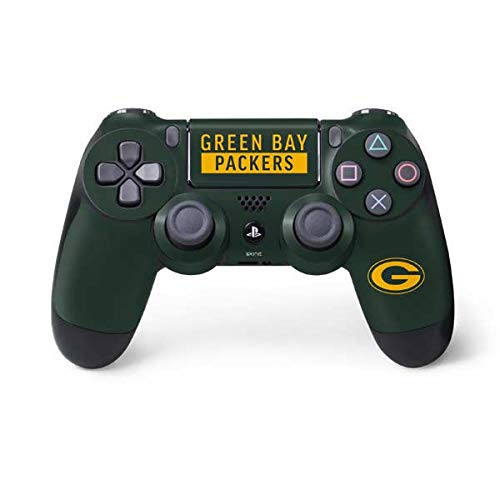 - Skinit Green Bay Packers Green Performance Series PS4 Controller Skin - Officially Licensed NFL Gaming Decal - Ultra Thin, Lightweight Vinyl Decal Protection