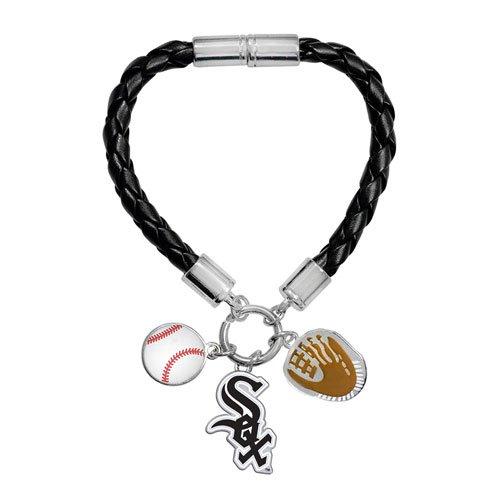 - Game Time Offical MLB CHICAGO WHITE SOX Charm Bracelet