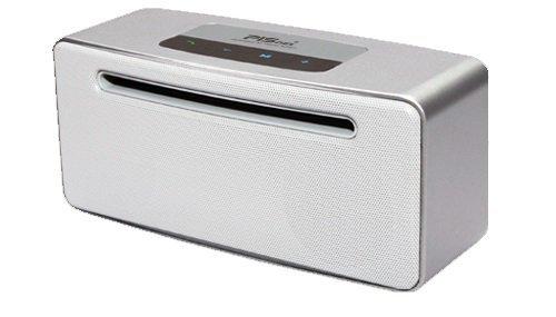 PISnet HighEnd SATIN SILVER Bluetooth 4.0 Portable Speaker Hands Free 24W by PISnet