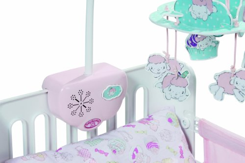 Zapf Creation 792025 Baby Annabell Bettchen Mit Mobile Amazon De