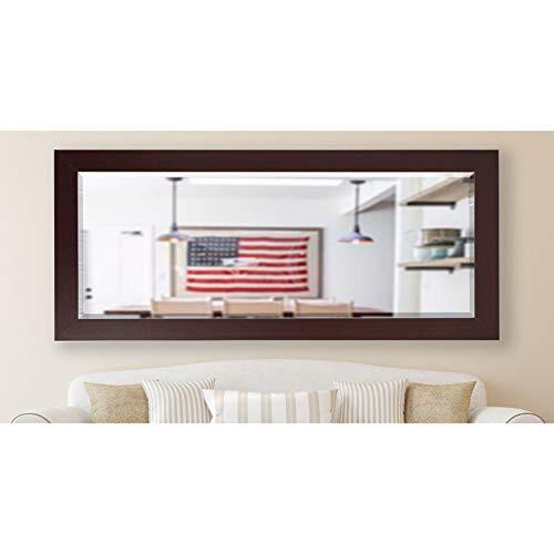Rayne Mirrors American Made Rayne 30.5 x 71-inch Dark Mahogany Extra Tall Wall Vanity Floor Mirror - Dark Mahogany - A/N