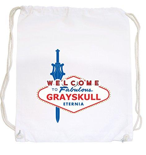 Welcome Grayskull Gymsack White Certified Freak J28iGs