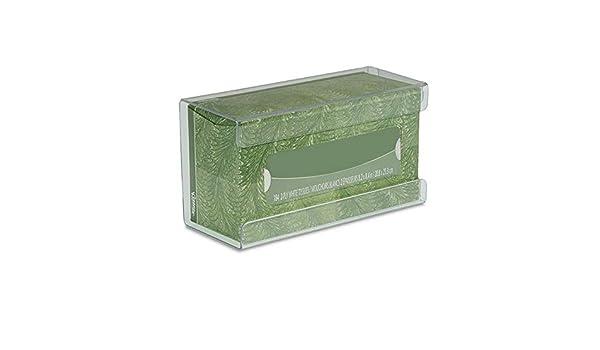LASISZ Soporte de Caja de pañuelos de plástico para Montar en la Pared decoración de la Oficina en el hogar Caja de Guantes médica de acrílico Transparente Soporte de Caja de pañuelos: