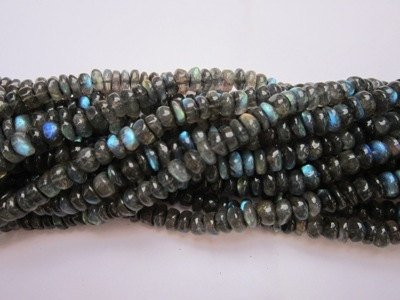 13  strand labradorite 8mm- 9mm rondell gemstone beads loose migliore quality