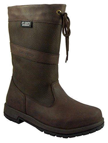 Kanyon Hornbeam Waterproof Leather Short Leg Country Boots, Brown (UK 10.5 EU 45)