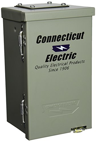 (Connecticut Electric CESMPSC13HR 30-Amps/120-Volt Circuit Protected RV Power Outlet)