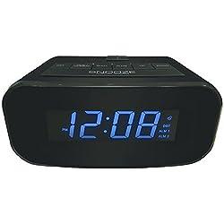 The Best Geneva Advance Electric LCD Alarm Clock with USB Port - Qty 6