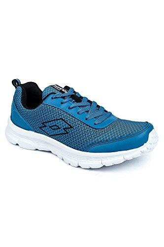Lotto Men Splash Blue/Black Shoes 10