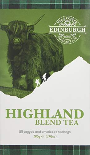 Edinburgh Tea & Coffee Company Highland Blend Tea, 25 Count - Blend Coffee Gift