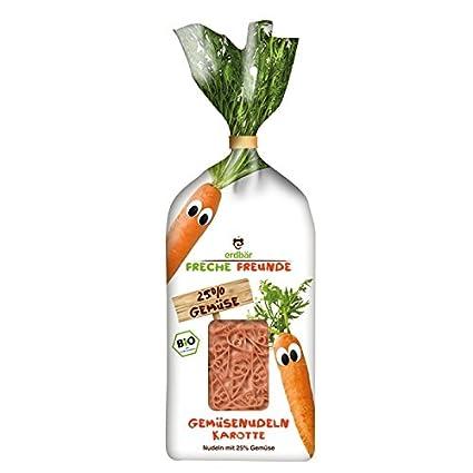 Verduras Erdbär atrevida amigos pasta zanahoria 300 G