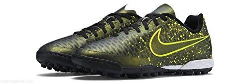 Nike Jr Magista Ola Tf, Zapatillas de Deporte para Niñas Amarillo / Verde / Negro (Dark Citron / Drk Citron-Blk-Vlt)