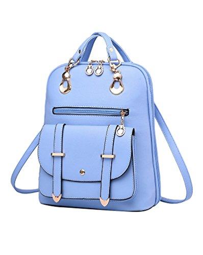 Fille Rangements Femme Classique Bleu Sacs CHENGYANG Sac Dos Épaule Pour À Nombreux d8PXq0w