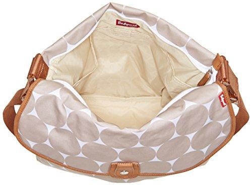 Babymel - Bolso cambiador beige Jumbo Dot Fawn Talla:talla única Jumbo Dot Fawn