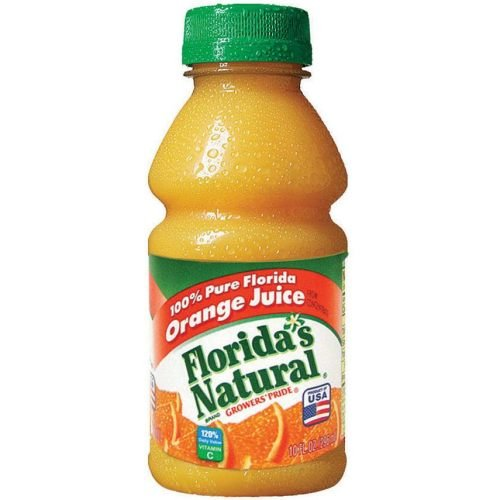 Floridas Natural Growers Pride Orange Juice, 10 Fluid Ounce - 24 per (Floridas Natural Fruit Juice)