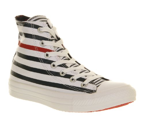 Converse Comme Salut Peut 1j793 Charbon De Bois Blanc Marine Sneaker Unisexe Erwachsene Rouge Nautique