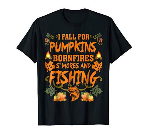 I Fall For Pumpkins Bonfires S'mores And Fishing