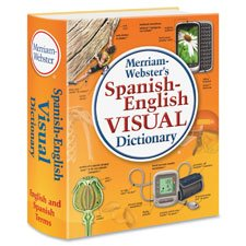 Merriam-Webster Spanish-English Visual Dictionary, Paperb...