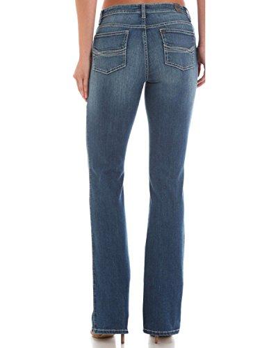 Wrangler Women's Aura Instantly Slimming Jeans Indigo 6 SHT - Instantly Aura Jeans Slimming