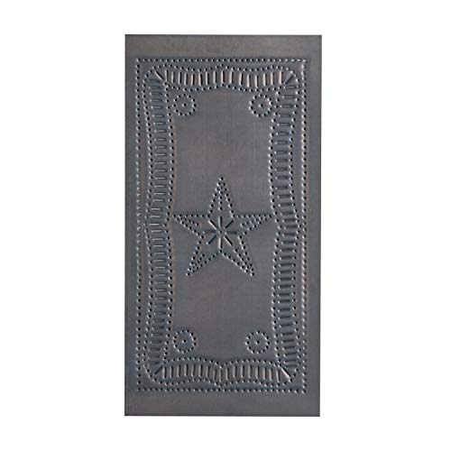 (Irvin's Country Tinware Small Vertical Federal Panel in Blackened)