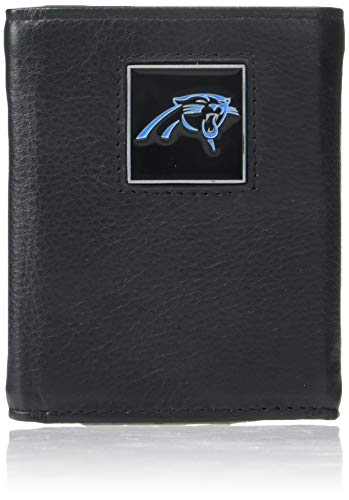 NFL Carolina Panthers Leather Tri-Fold Wallet