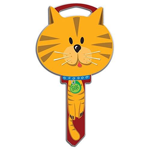 Lucky Line Key Shapes, CAT  House Key Blank, SC1, 1 Key (B115S)