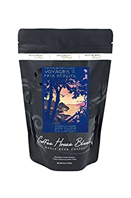 France - Trips to Normandy, Brittany, and the Isle of Jersey; Ouest Railway Postcard (8oz Whole Bean Small Batch Artisan Coffee - Bold & Strong Medium Dark Roast w/ Artwork)